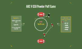 AUC V GSU Powder Puff Game