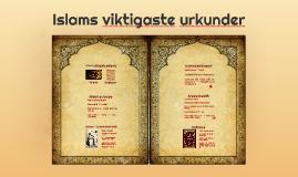Islam - Urkunder
