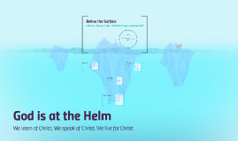 Copy of Avoiding the Icebergs