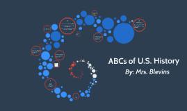 ABCs of U.S. History