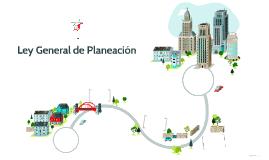 Ley General de Planeación