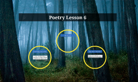 Poetry Lesson 1