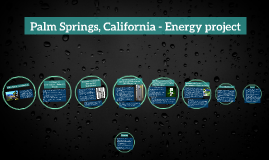 Palm Springs, California - Energy