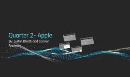 Quarter 2- Apple