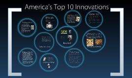 America's Top 10 innovations