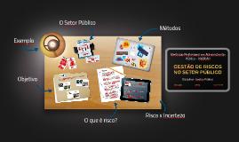 Copy of Gestão de Riscos no Setor Público
