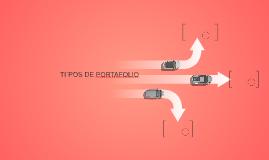 TIPOS DE PORTAFOLIO
