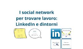 Trovare lavoro con i social network: Linkedin e dintorni - versione 2015