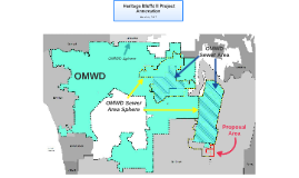 Olivenhain Municipal Water District to provide sewer service