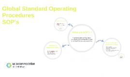 Global Standard Operating Procedures