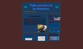 tabla periodica de los elementos by nestor caballero landa on prezi