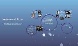 TopicAmerikansk musik 1492-1940