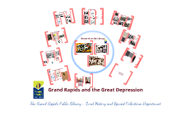 Grand Rapids and the Great Depression