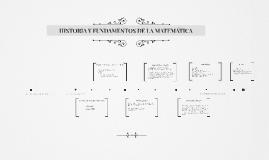 Historia y fundamentos de la Matemática