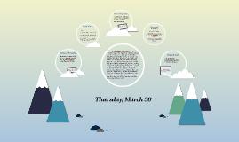 Thursday, March 30