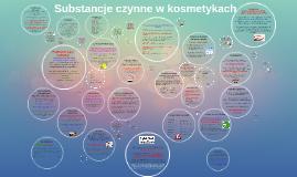 Copy of Copy of Substancje czynne w kosmetykach