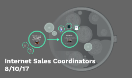 Internet Sales Coordinators
