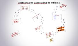 Copy of Segurança no Laboratório de química