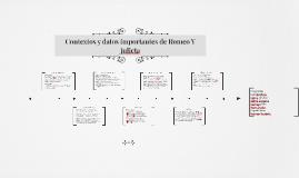Copy of Contextos y datos importantes de Romeo Y Julieta