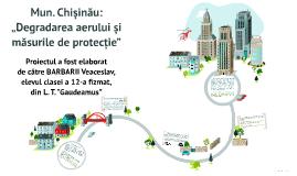 Degradarea aerului si masurile de protectie