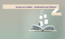 Vertrag von Lissabon -