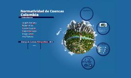 Normatividad Cuencas Colombia