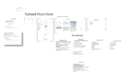 Copy of Python3 Cheat Sheet