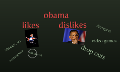 obama likes/dislies