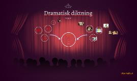 Dramatisk diktning