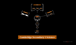 Cambridge Secondary 1 Science