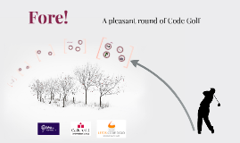 Fore! Code Golf with Callcredit