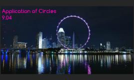 Application of Circles