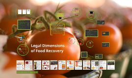 Legal Dimensions of Food Recovery