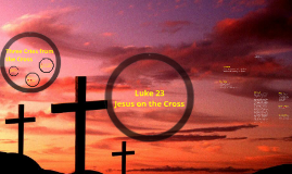 Luke 23 -Jesus on the Cross