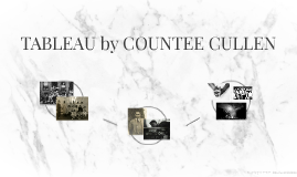 TABLEAU by COUNTEE CULLEN