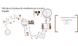 Copy of Educación en la Nueva España