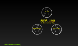 The Agile Cosmos in 5 minutes or LeSS