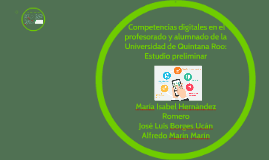 Copy of Estudio preliminar Competencias digitales en el profesorado
