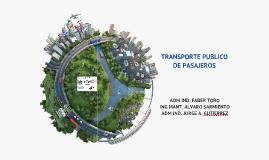 Copy of Gestion Estrategica Empresa Transporte Urbano de Pasajeros