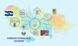 Copy of SIMBOLOS PATRIOS DE EL SALVADOR