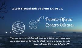 CG Group para Especialidad. Politicas Credito y Cobranza