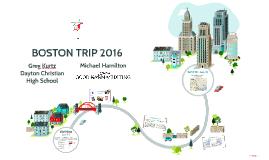 Boston Trip 2016