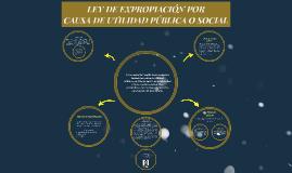 LEY DE EXPROPIACIÓN POR