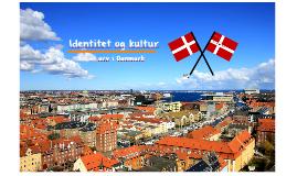Identitet og kultur