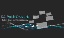 D.C. Mobile Crisis Unit