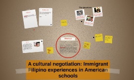 """Are you from Hawaii?"": Immigrant Filipino experiences in Am"