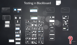 Testing in Blackboard