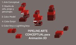 PIPELINE ARTE CONCEPTUAL para Animación 3D