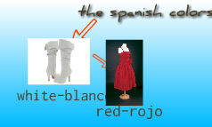 the spanish colors