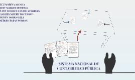 Copy of SISTEMA DE LA CONTABILIDAD PUBLICA